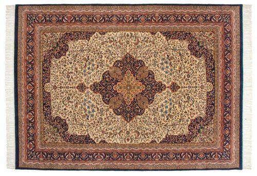 8×11 Kerman Ivory Oriental Rug 033193