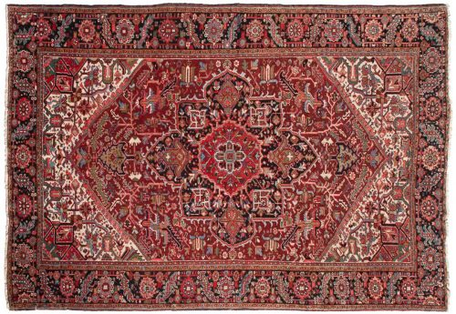 8×11 Persian Mehrivan Red Oriental Rug 020188