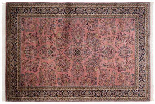 8×11 Sarouk Rose Oriental Rug 024142