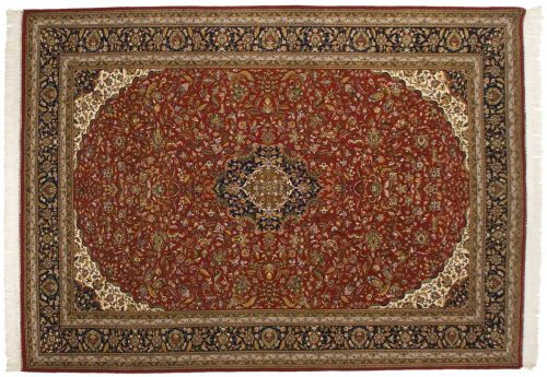 8×11 Tabriz Red Oriental Rug 034480