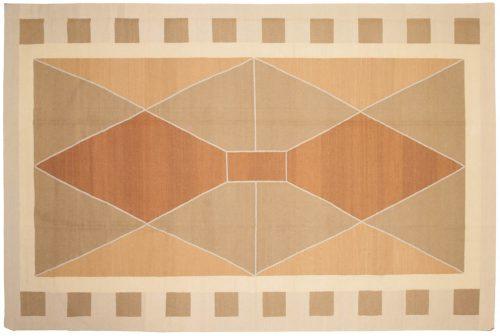 8×12 Nicholls Beige Oriental Rug 012847