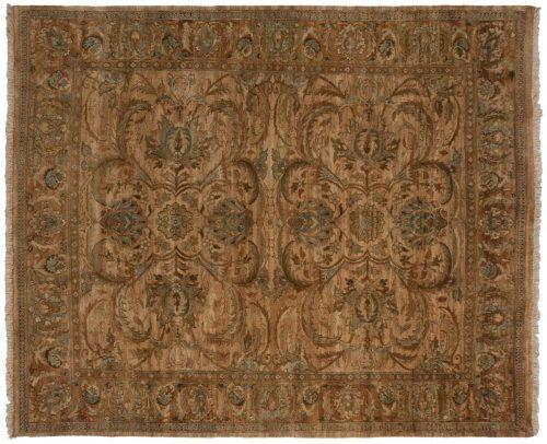 8×9 Jaipur Gold Oriental Rug 027788