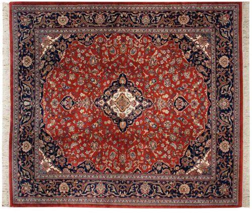 8×9 Kashan Red Oriental Rug 023602