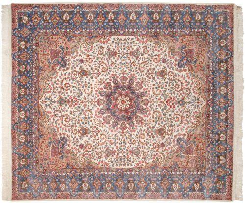 8×9 Mashad Ivory Oriental Rug 015743
