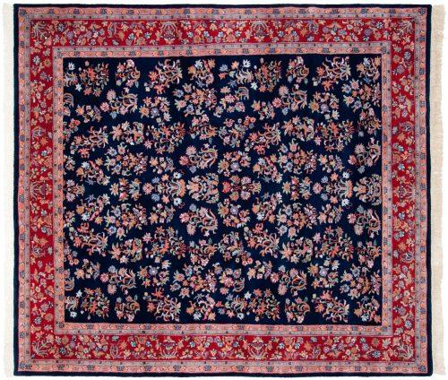8×9 Sarouk Blue Oriental Rug 016374