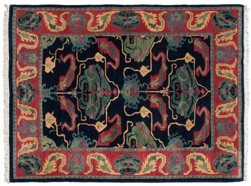 9×11 Tibetan Blue Oriental Rug 014139