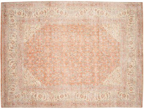 9×11 Chobi Rust Oriental Rug 049095