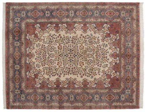 9×11 Kerman Ivory Oriental Rug 016769