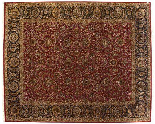 9×11 Agra Red Oriental Rug 025560