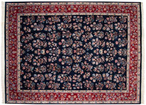 9×11 Sarouk Blue Oriental Rug 015647