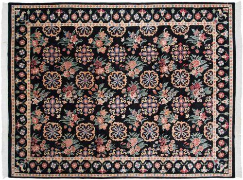 9×11 Tibetan Black Oriental Rug 016811