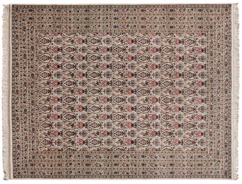 9×11 Zuli Sultan Ivory Oriental Rug 026300