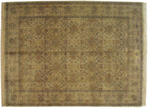 9×12 Agra Gold Oriental Rug 038407