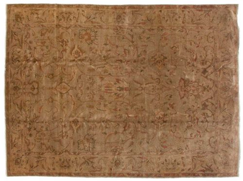9×12 Agra Green Oriental Rug 017656