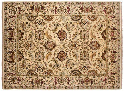 9×12 Agra Ivory Oriental Rug 040997