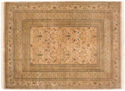 9×12 Art Nouveau Gold Oriental Rug 038769