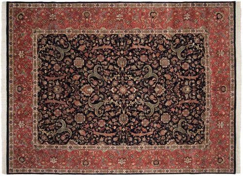 9×12 Isfahan Blue Oriental Rug 024839