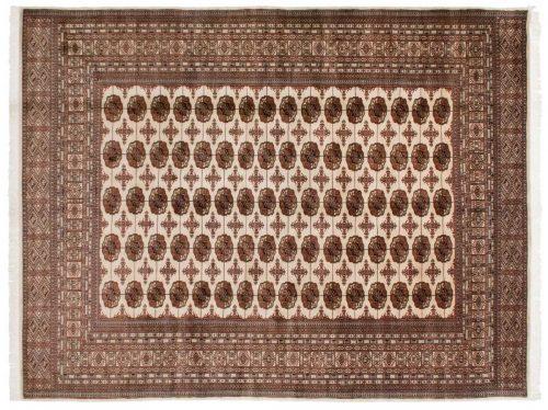 9×12 Bokhara Ivory Oriental Rug 021949
