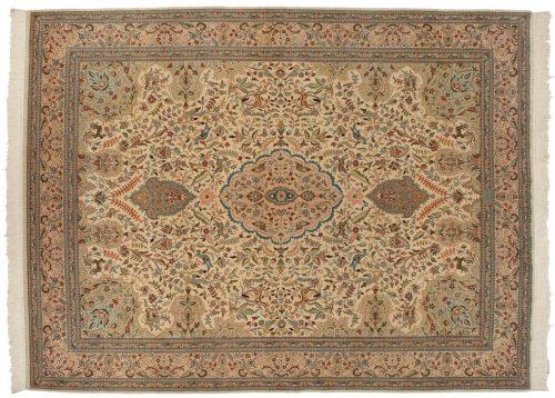 9×12 Bulgarian Ivory Oriental Rug 017150