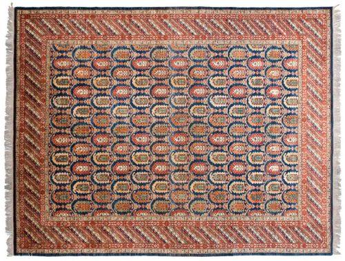 9×12 Caucasian Blue Oriental Rug 026001