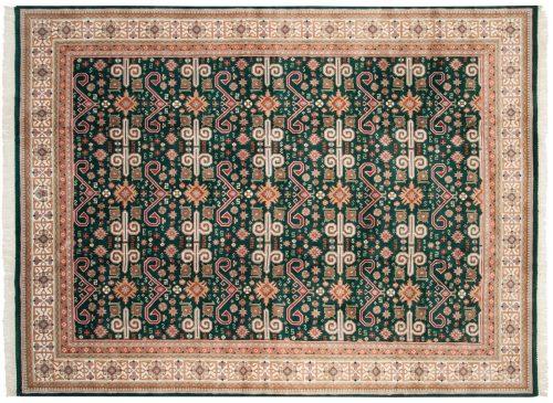 9×12 Caucasian Green Oriental Rug 016642