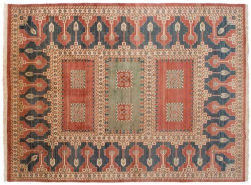 9×12 Caucasian Red Oriental Rug 012657