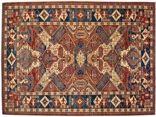 9×12 Caucasian Red Oriental Rug 026095
