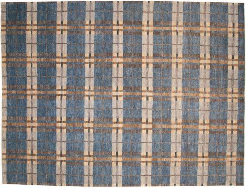 9×12 Chobi Blue Oriental Rug 049019