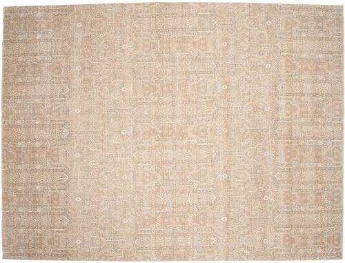 9×12 Chobi Silver Oriental Rug 049066