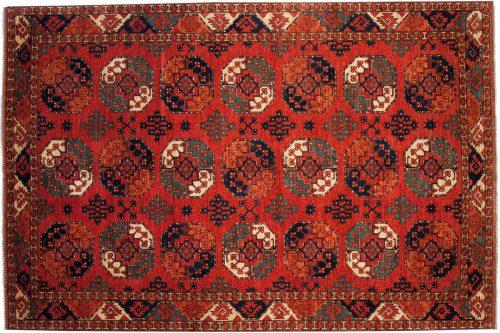 9×12 Ersari Rust Oriental Rug 048885