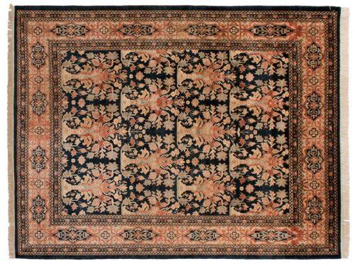 9×12 Feraghan Blue Oriental Rug 025848