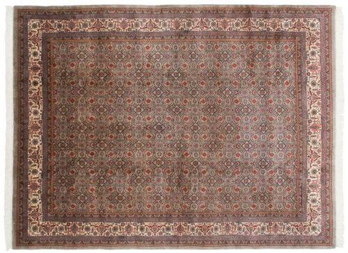 9×12 Bijar Grey Oriental Rug 030611
