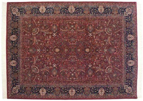 9×12 Isfahan Red Oriental Rug 031652