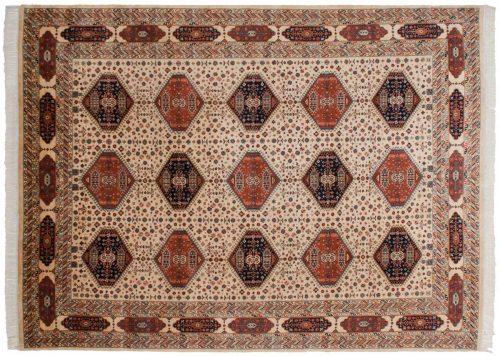 9×12 Kafkaz Ivory Oriental Rug 014649