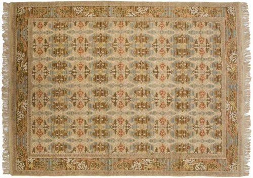 9×12 Spanish Ivory Oriental Rug 029828
