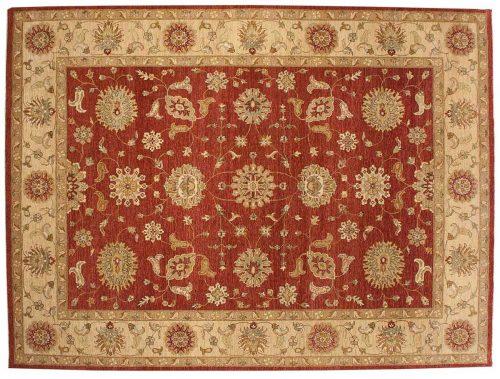 9×12 Jaipur Rust Oriental Rug 041905