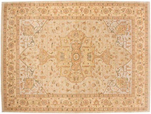 9×12 Jaipur Silver Oriental Rug 041907