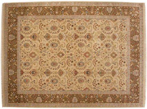 9×12 Jaipur Yellow Oriental Rug 043117