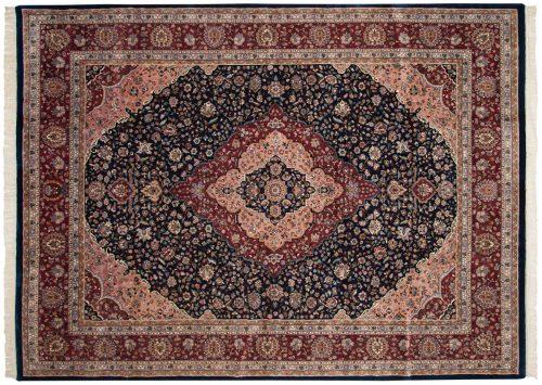 9×12 Kashan Blue Oriental Rug 016036