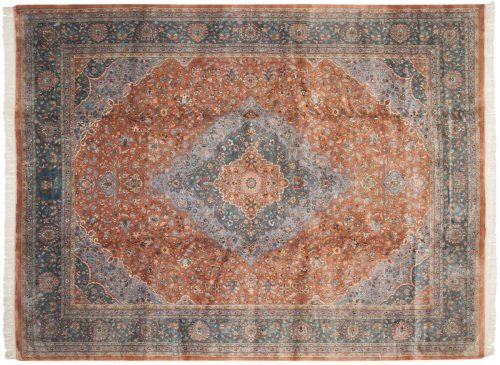 9×12 Kashan Peach Oriental Rug 016557