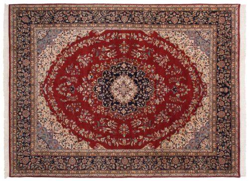 9×12 Kashan Red Oriental Rug 016686