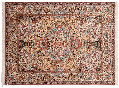9×12 Kashmir Gold Oriental Rug 013132