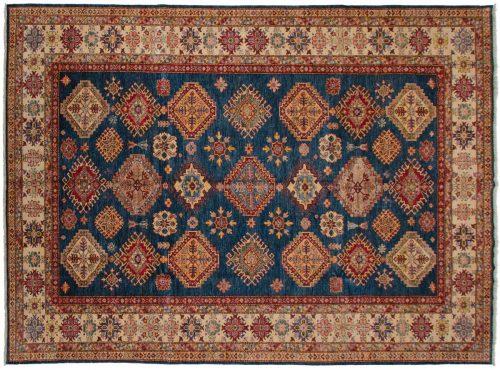9×12 Kazak Blue Oriental Rug 045732