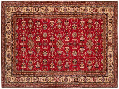 9×12 Kazak Red Oriental Rug 046441