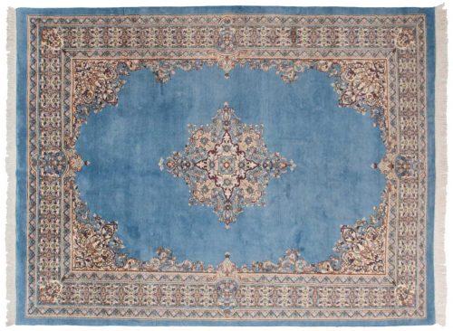 9×12 Kerman Blue Oriental Rug 029853