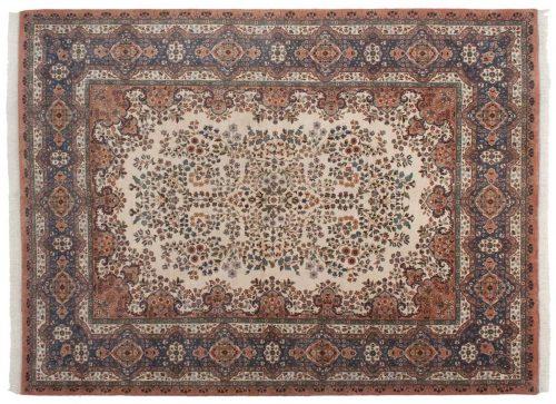 9×12 Kerman Ivory Oriental Rug 016736