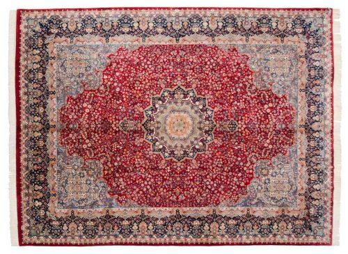 9×12 Kerman Red Oriental Rug 023488