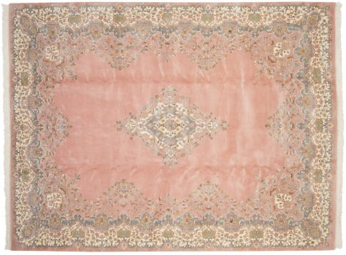 9×12 Kerman Rose Oriental Rug 016034