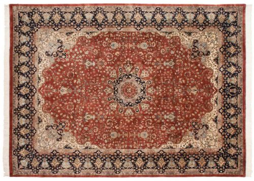 9×12 Mashad Red Oriental Rug 016644