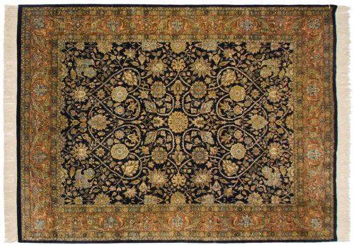 9×12 Meshed Blue Oriental Rug 032358